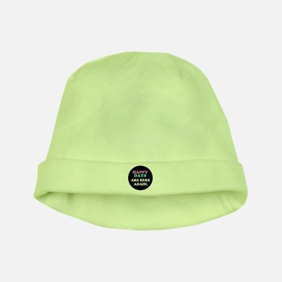 'Happy Days' baby hat