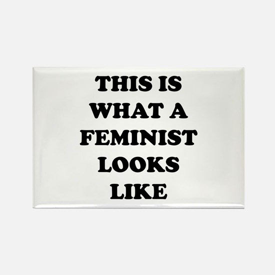 This Is What A Feminist Looks Like Rectangle Magne