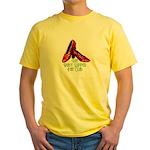 Ruby Slipper Fan Club Yellow T-Shirt