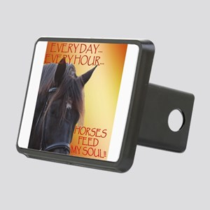 Horses feed my soul Hitch Cover