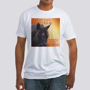 Horses feed my soul T-Shirt