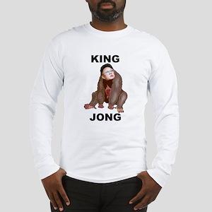 Kim Jong Il - King Jong Long Sleeve T-Shirt