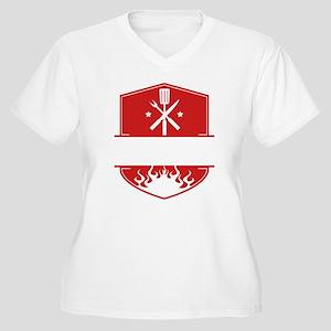 Grilling Logo Plus Size T-Shirt