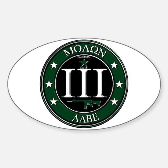 Molon Labe Decal
