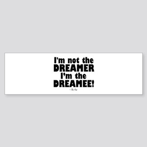 'Dreamee' Sticker (Bumper)