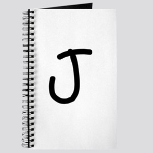 Bookworm Monogram J Journal