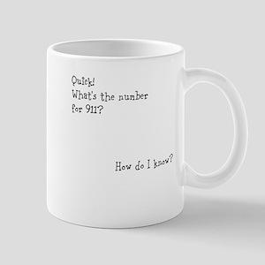 Number for 911 Mug
