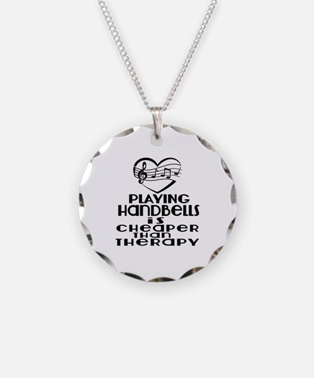 Handbells Is Cheaper Than Th Necklace Circle Charm