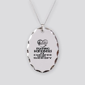 Handbells Is Cheaper Than Ther Necklace Oval Charm