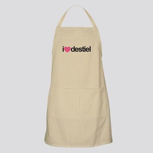 I Love Destiel (Pink Heart) Apron