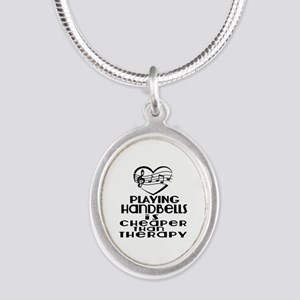 Handbells Is Cheaper Than The Silver Oval Necklace