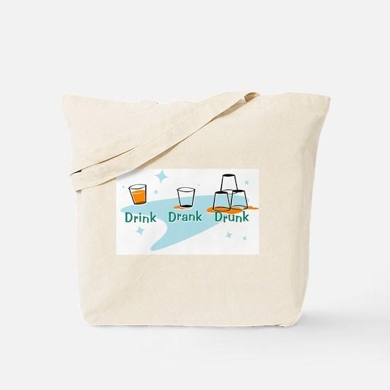 drinkdrankdrunk.gif Tote Bag