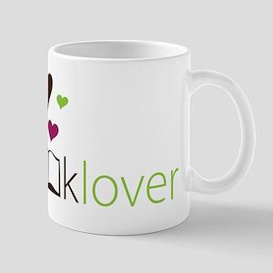 Book Lover - floating hearts Mug