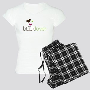 Book Lover - floating hearts Pajamas