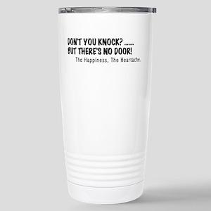 Dont you knock? Travel Mug