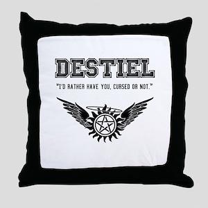 Destiel Quote Series #2 Throw Pillow