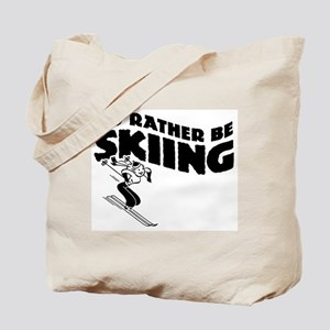 I'd Rather be skiing (female) Tote Bag