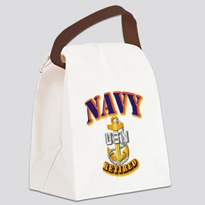 NAVY - CPO - Retired Canvas Lunch Bag