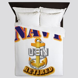 NAVY - CPO - Retired Queen Duvet