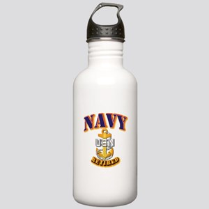 NAVY - CPO - Retired Stainless Water Bottle 1.0L