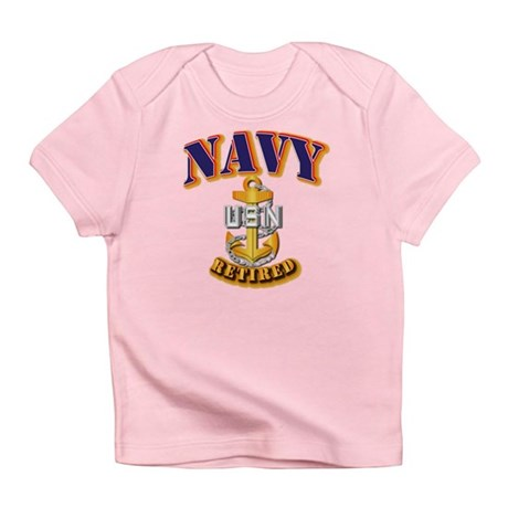 NAVY - CPO - Retired Infant T-Shirt