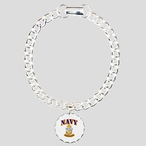 NAVY - CPO - Retired Charm Bracelet, One Charm