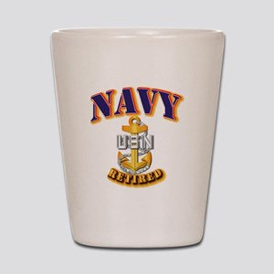 NAVY - CPO - Retired Shot Glass