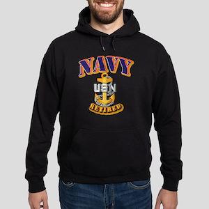 NAVY - CPO - Retired Hoodie (dark)