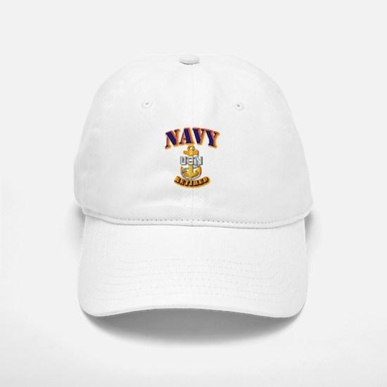 NAVY - CPO - Retired Baseball Baseball Cap