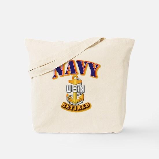 NAVY - CPO - Retired Tote Bag