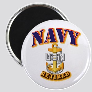 NAVY - CPO - Retired Magnet