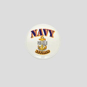 NAVY - CPO - Retired Mini Button