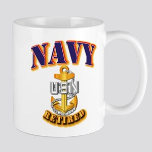 NAVY - CPO - Retired Mug