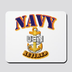 NAVY - CPO - Retired Mousepad