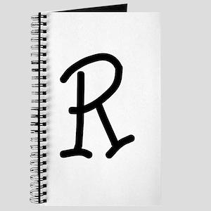 Bookworm Monogram R Journal