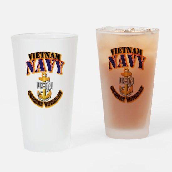 NAVY - CPO - VN - CBT VET Drinking Glass