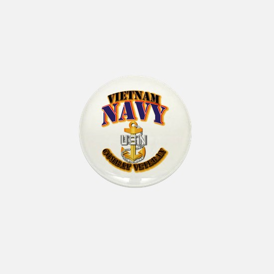 NAVY - CPO - VN - CBT VET Mini Button
