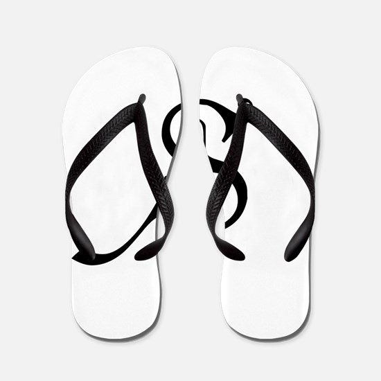 Royal Monogram S Flip Flops