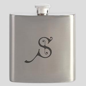 Royal Monogram S Flask