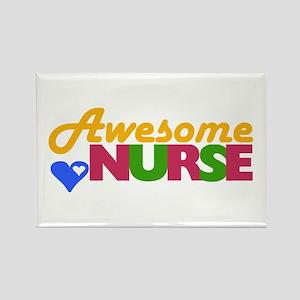 Awesome Nurse Rectangle Magnet