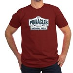Pinnacles National Park Men's Fitted T-Shirt (dark