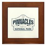 Pinnacles National Park Framed Tile