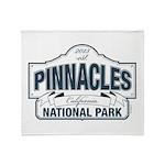 Pinnacles National Park Throw Blanket