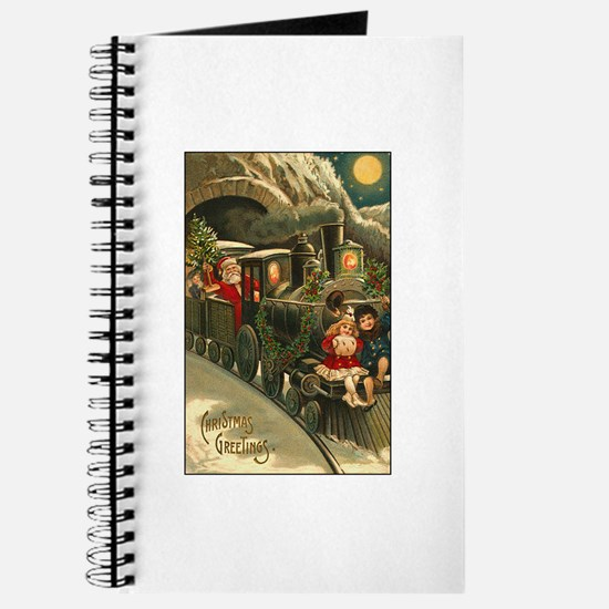 Santa's Victorian Christmas Train Journal