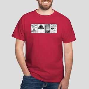 Victorian Bank, Investing, Economics Dark T-Shirt