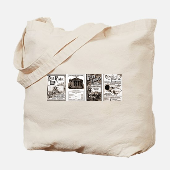 Victorian Banking, Investing, Economy Tote Bag