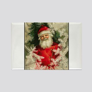 Jolly Victorian Santa Claus - Christmas Rectangle