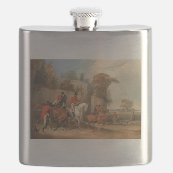 Getting Ready for the Hunt Flask