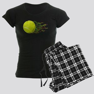 Tennis Ball Flames Artistic US Open Wimbleton Paja