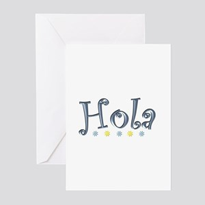 Hola greeting cards cafepress hola hi greeting cards pk of 10 m4hsunfo
